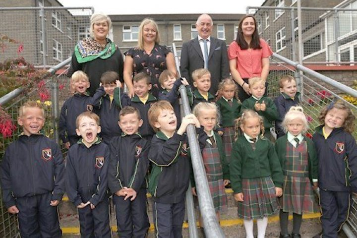 Bunscoil Mhuire Welcomes eight sets of twins to Junior Infants