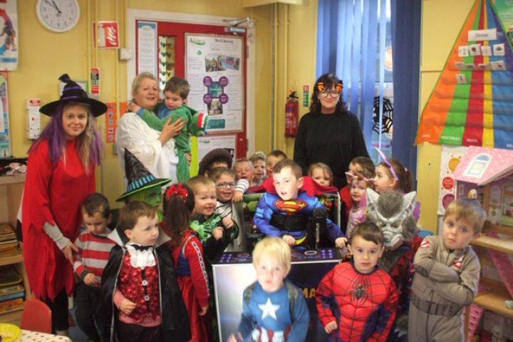Halloween & Superhero Day!