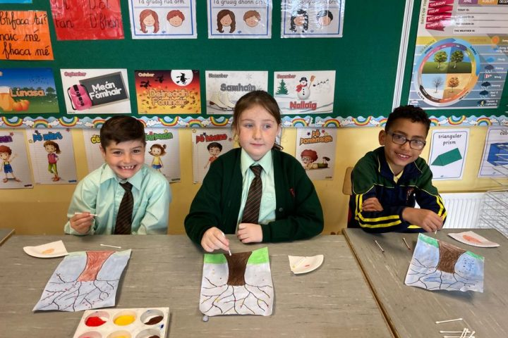 Catching up with Ms Cunningham's Class – October