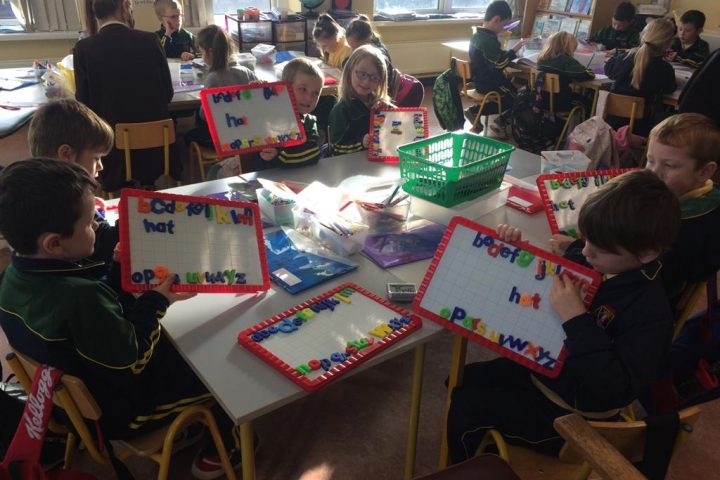 Catching up with Ms Fitzgerald's Class – October