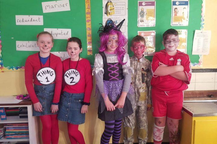 Halloween in Mr Hickey's Class